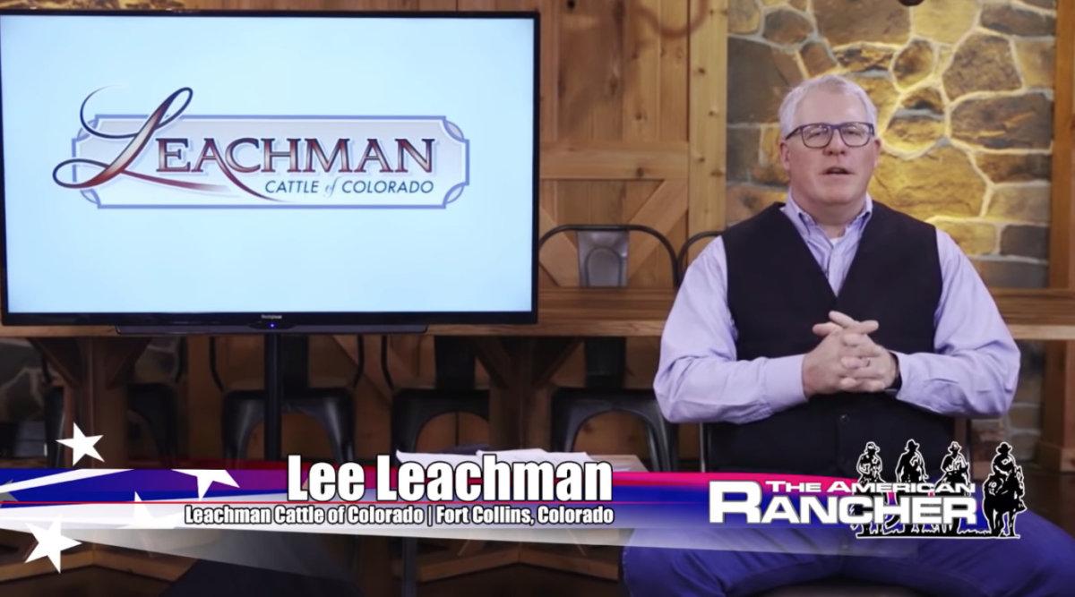 American Rancher Lee Leachman